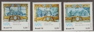 Brazil Scott #1647-1649 Stamps - Mint NH Set