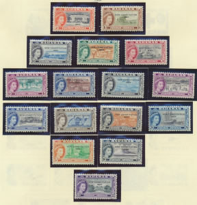 Bahamas Stamps Scott #185 To 200, Mint Never Hinged - Free U.S. Shipping, Fre...