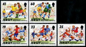 HERRICKSTAMP JERSEY Sc.# 750-54 1996 Soccer