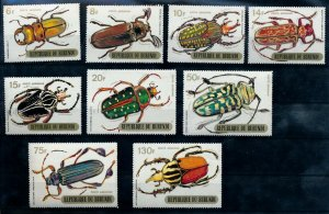 [I1867] Burundi 1970 Airmail Insect good set of stamps very fine MNH $45
