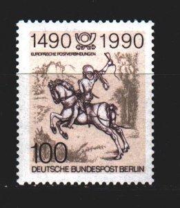 West Berlin. 1990. 860. History of mail, postman, horse, Durer. MNH.