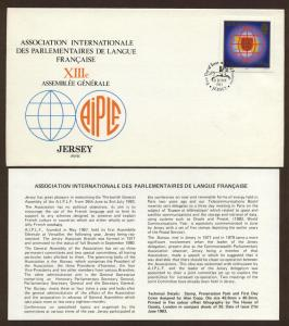 Jersey # 315 , French Speaking Parliament Assembly FDC
