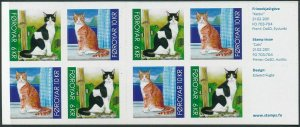 Faroe Islands 2011 #554a MNH. Cats, booklet