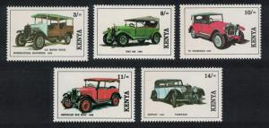 Kenya Vintage Cars 5v SG#575-579