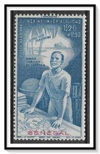 Senegal #CB5 Airmail Semi-Postal Colonial Fund MH