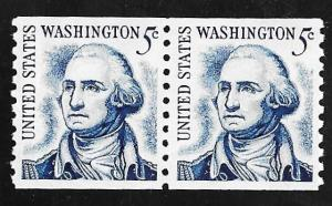 #1304C 5 cents George Washington Coil Pair mint OG NH EGRADED SUPERB 100 XXF