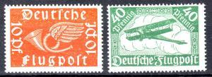 GERMANY Reich 1919 Mi# 111-112 MNH (1003)