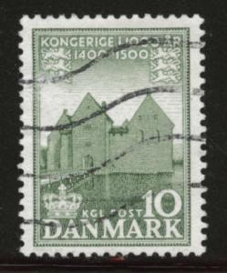 DENMARK  Scott 347 Used