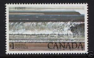 Canada #726ii Mint Double Print Var *With Certificate*