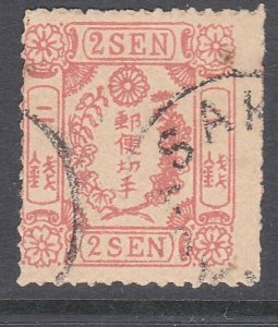 JAPAN  An old forgery of a classic stamp....................................C890