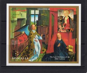 Somalia 1999 The Last Christmas of the 20th.Century/Baldovinetti S/S Perforated