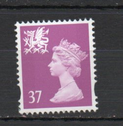 Great Britain - Wales WMMH82 MNH