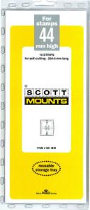 Scott Mounts Black,44mm STRIP 265mm  (pkg 10) 00981B