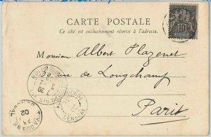 45179  SENEGAL  Sdan -  POSTAL HISTORY: POSTCARD of Saldé  sent from Foundiougne