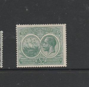 Bermuda 1920 Tercentenary 1st Issue 1/2d LMM SG 60
