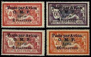 1922 Syria #C10-13 Airmail - Unused NG - VF - CV$105.00 (ESP#4169)