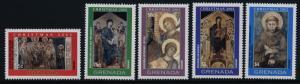 Grenada 3308-13 MNH Christmas, Art, Paintings