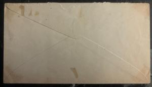 1900s Bluefields Nicaragua Telegraph Cancel Cover Domestic Used