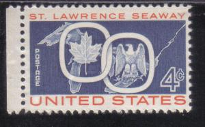 1131 - .04 St. Lawrence Seaway mnh f-vf.