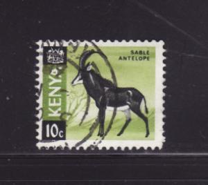 Kenya 21 U Animals, Sable Antelope