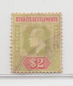 Malaya Straits Settlements - 1906-12 -  SG166 - $2 - used #729