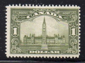 Canada Sc 159 1929 $1 Parliament Building stamp mint