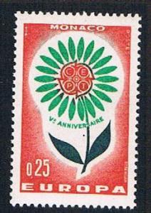 Monaco 590 MLH Europa Issue 1964 (BP1131)