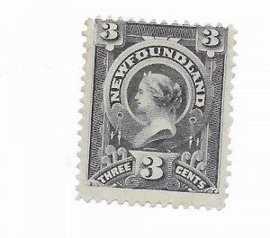 Newfoundland #60 MH - Stamp - CAT VALUE $15.00