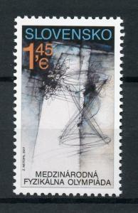 Slovakia 2017 MNH International Physics Olympiad 1v Set Science Stamps