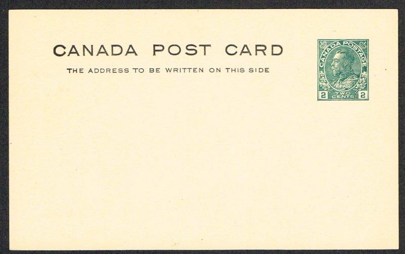 Canada Unitrade Postal Card UX34d