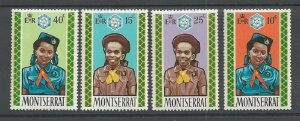 1970 Montserrat Scout Girl Guide Brownie
