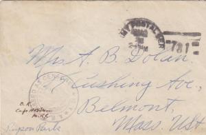 1918, APO 731, US Marines, 6th Reg., 79th Co., Censored, See Remark (N1161)