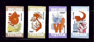 Vietnam 2166-69 MNH 1990 imperf set