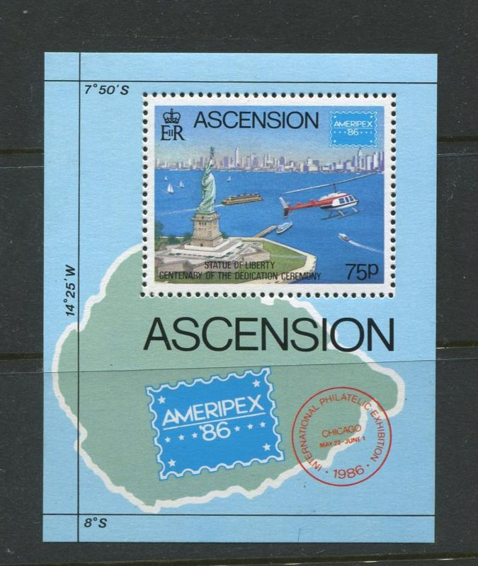 Ascension - Scott 398 - General Issue -1986 - MNH - Souvenir Sheet of 1 Stamps