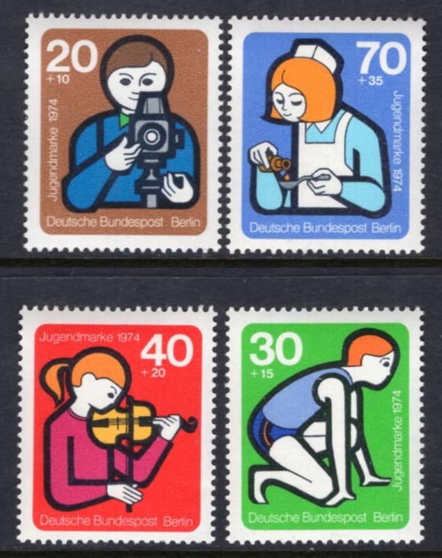 Germany Berlin 9NB106-9NB109 MNH VF