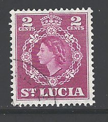 St. Lucia Sc # 158 used (RS)