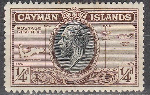Cayman Is #85 F-VF Unused   (S6486)