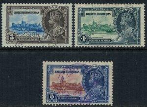 British Honduras #108-10  CV $7.35