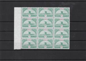pakistan service mnh stamps block    ref 7888