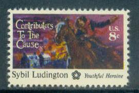 1559 8c Ludington Fine MNH Plt/10 LL 35722-26 FL11610