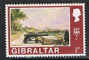 GIBRA:TAR 190373 - 1971 1/2p Then & Now MH single