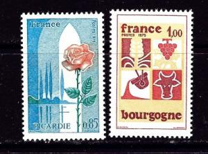 France 1443-44 NH 1975 issue