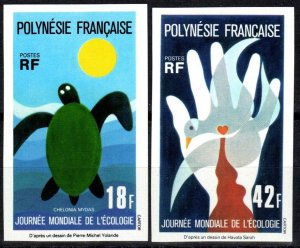 French Polynesia #289-90  MNH CV $34.00 (X2332)