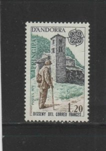 ANDORRA, FRENCH #269  1979   EUROPA  MINT VF NH  O.G