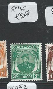MALAYA JOHORE (P1108B) 3C  SG135  MOG