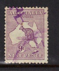 Australia SC# 9, Used
