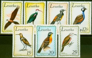 Lesotho 1971 Birds Set of 7 SG204-210 Fine Mtd Mint