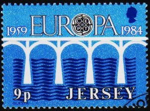 Jersey. 1984 9p S.G.330 Fine Used