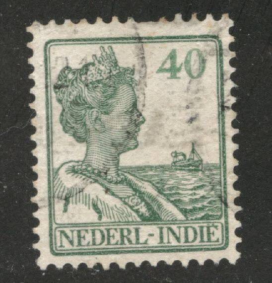 Netherlands Indies  Scott 130 used  from 1912-20 set