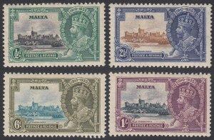 Malta 184-187 MH CV $22.00